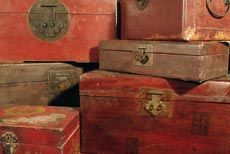 anciennes boites chinoise en bois antiquit. Black Bedroom Furniture Sets. Home Design Ideas