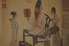 Chinese Stage of Life Painting