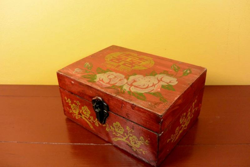 Ancien Coffre Chinois - Coffret Maquillage