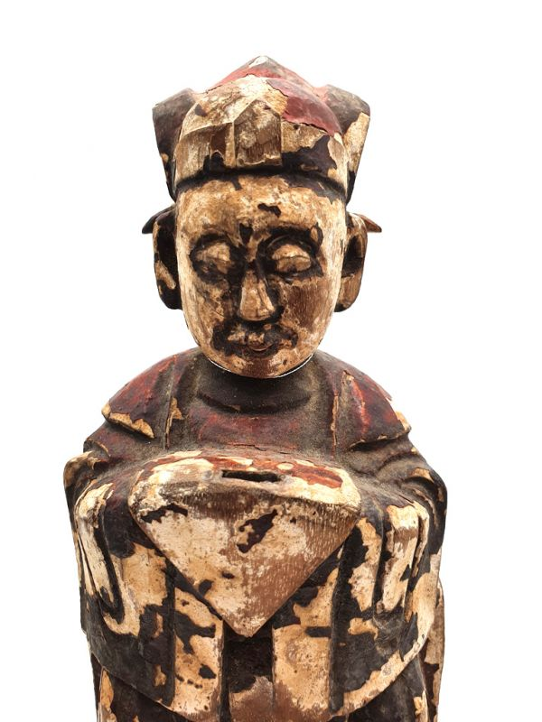 Ancienne statue votive chinoise - Homme chinois 2