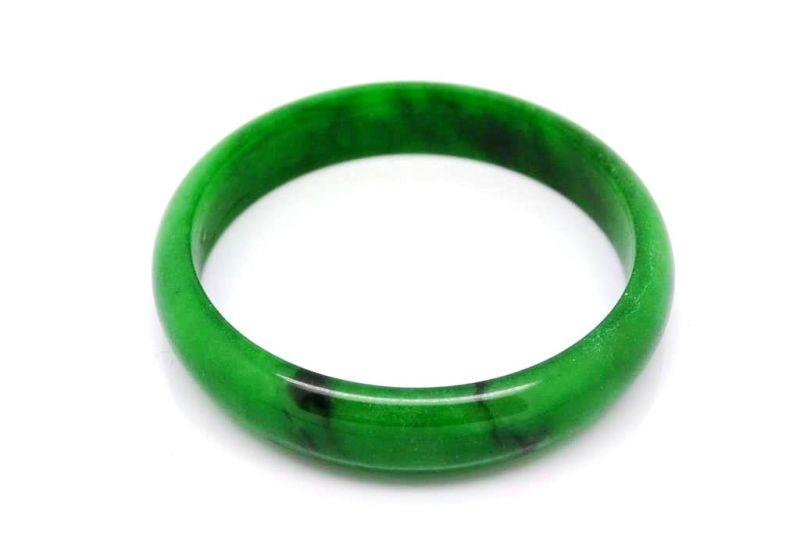 Bracelet En Jade Jonc Categorie A Vert 6cm Dl 8258 1 Jpg