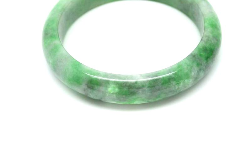 Jade Bracelet Bangle Class A Several Green 6 15 3