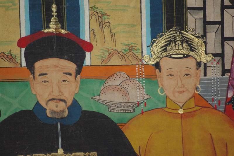 kaiser von china unsere ahnen portr ts von kaisern und. Black Bedroom Furniture Sets. Home Design Ideas