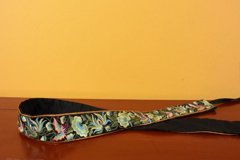 Miao Belts - Embroidery - Black 2