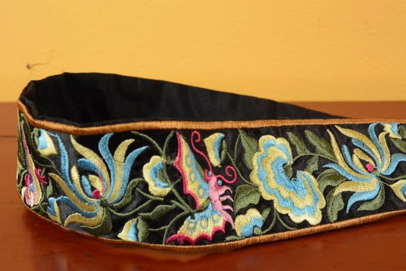 Miao Belts - Embroidery - Black 3