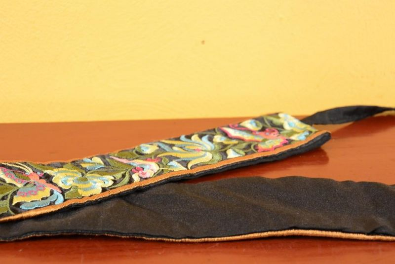 Miao Belts - Embroidery - Black 4