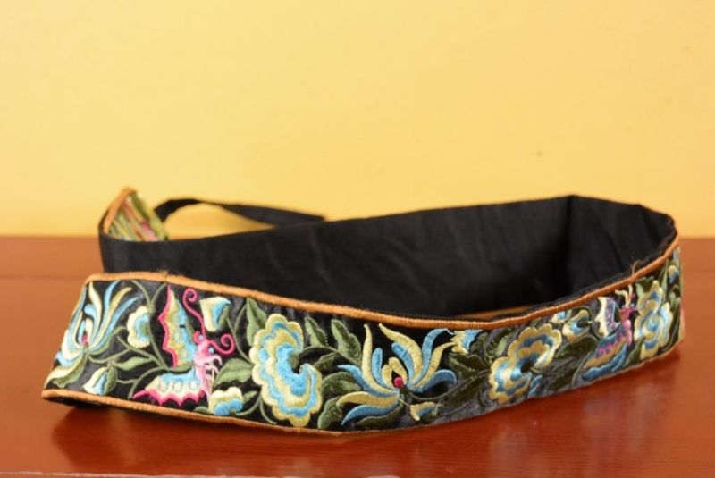 Miao Belts - Embroidery - Black 5