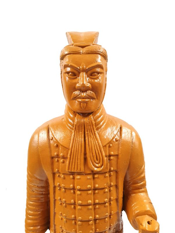 Terracotta Warrior - Terracotta army - Modern Version - Yellow Safran 2