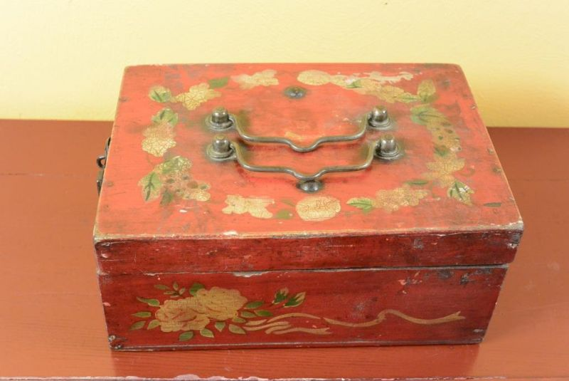 Old Chinese Chest - Mao era 2