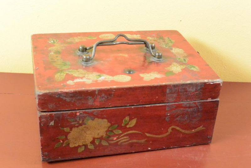 Old Chinese Chest - Mao era 5