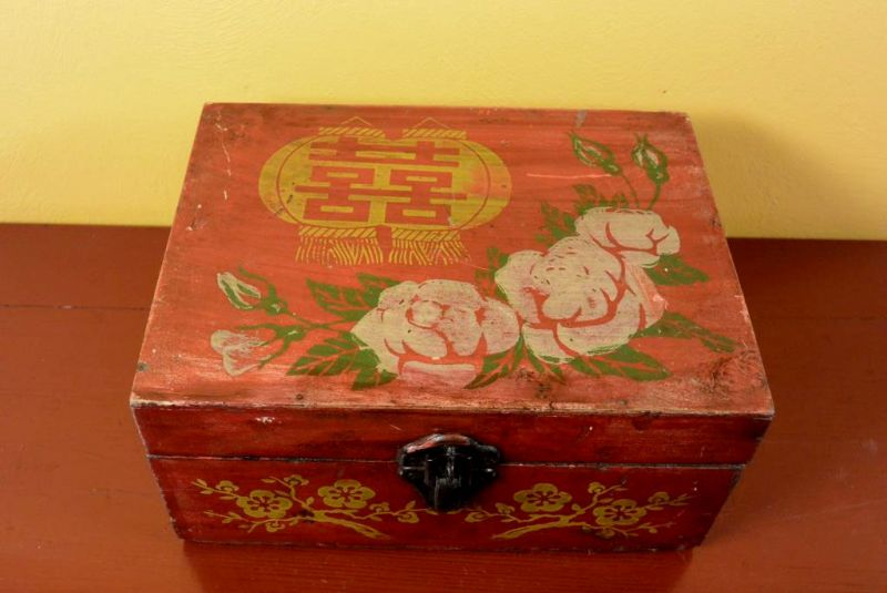 Old Chinese Chest - Makeup box 3