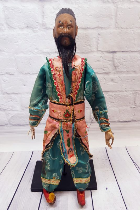 Ancient Chinese Theater Puppet -Fujian Province - The foreign trader