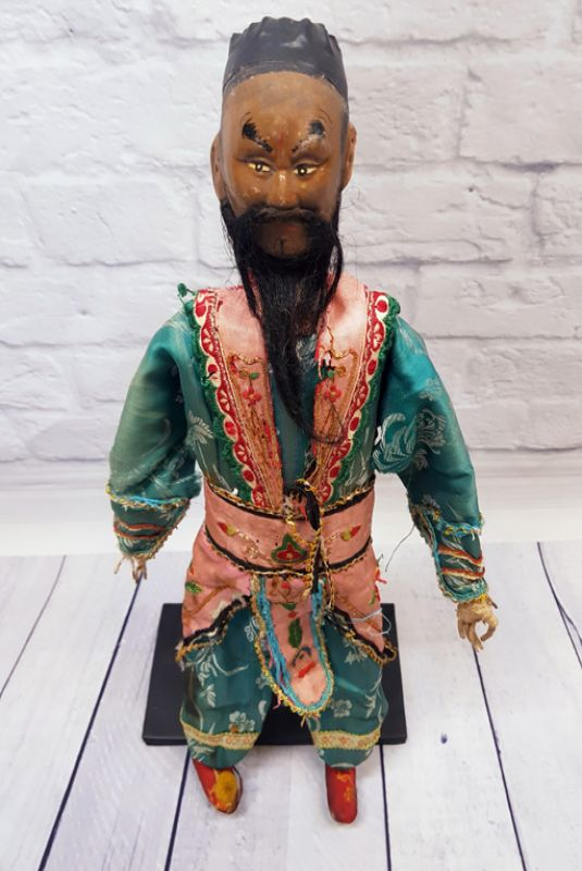 Ancient Chinese Theater Puppet -Fujian Province - The foreign trader 2