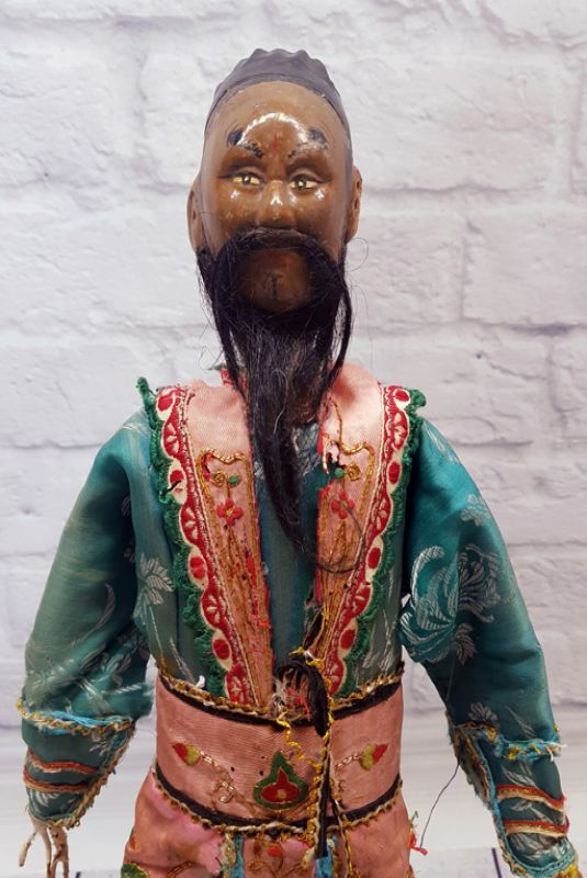 Ancient Chinese Theater Puppet -Fujian Province - The foreign trader 3