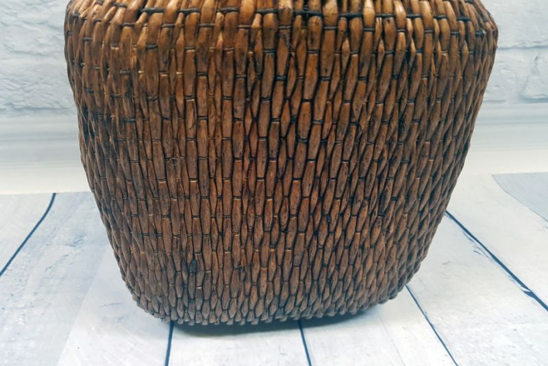 Old small Chinese braided box - Basketry 3