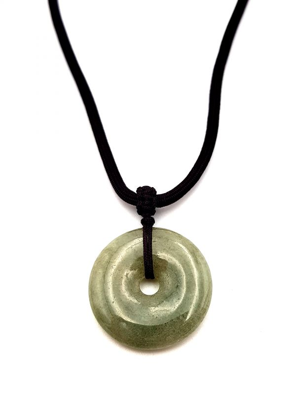 Natural and genuine Jadeite jade Pendant - Green Apple