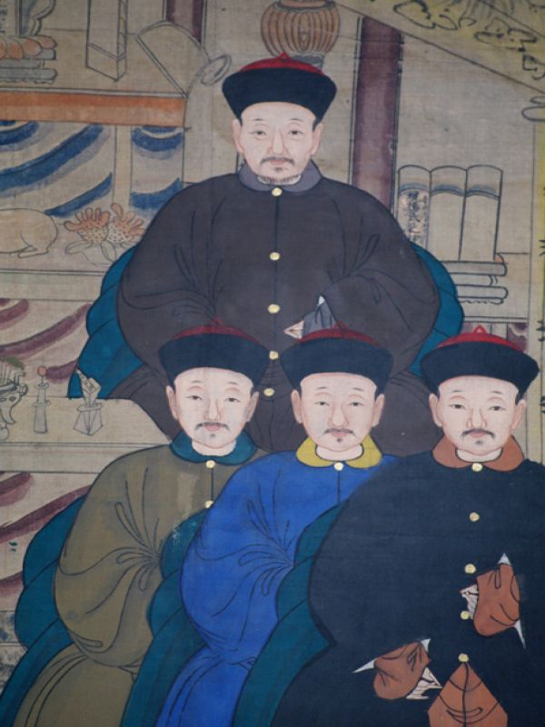Old Chinese Chinese Ancestor Painting - Ancient Asian painting 4