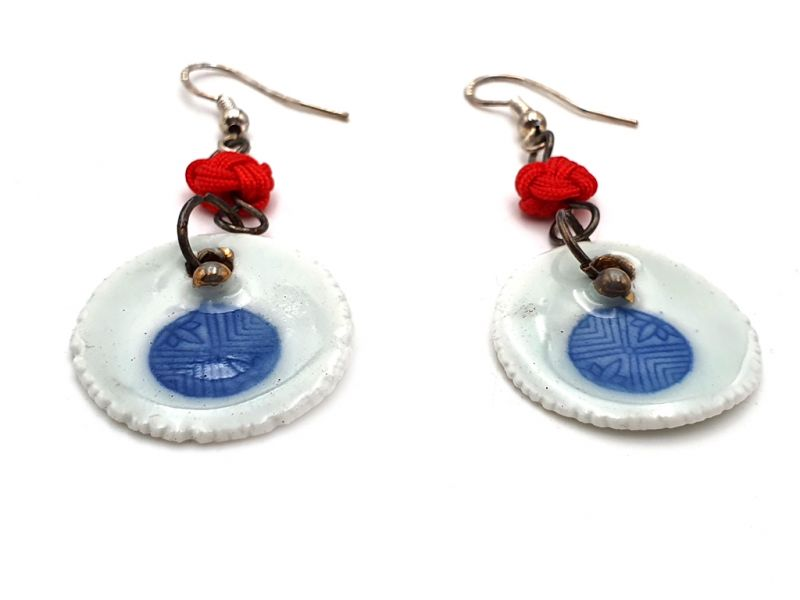 Ceramic jewelry Road to India Collection - Earrings - Rajasthan 2