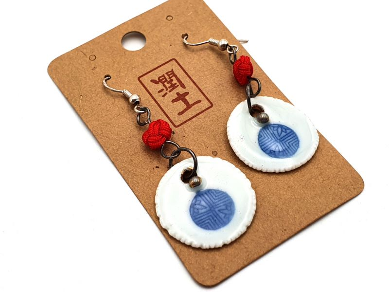 Ceramic jewelry Road to India Collection - Earrings - Rajasthan 4