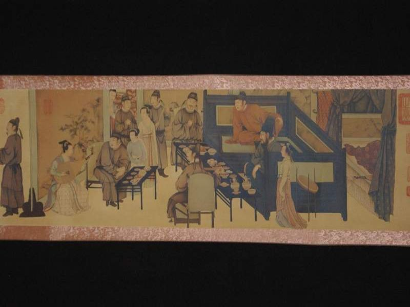 Chinese Painting Night Revels of Han Xizai part 3