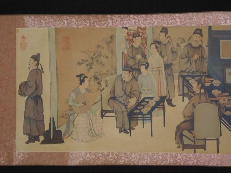 Chinese Painting Night Revels of Han Xizai part 3 2