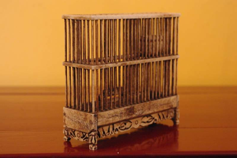 Large Chinese bone crickets cage for fighting crickets