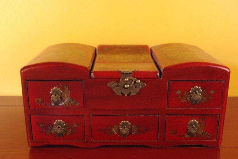 chinesische schmuckk stchen chinesische schrank mit spiegel. Black Bedroom Furniture Sets. Home Design Ideas
