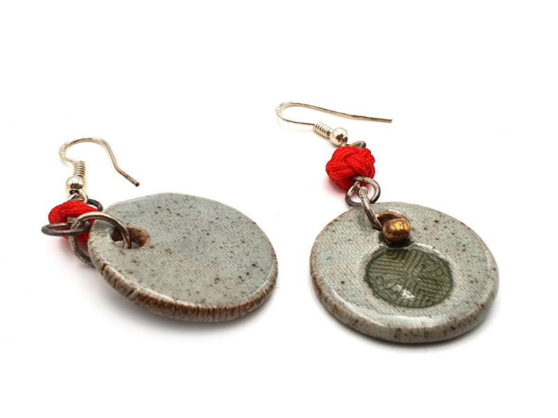 Road to India Ceramic Earrings 4