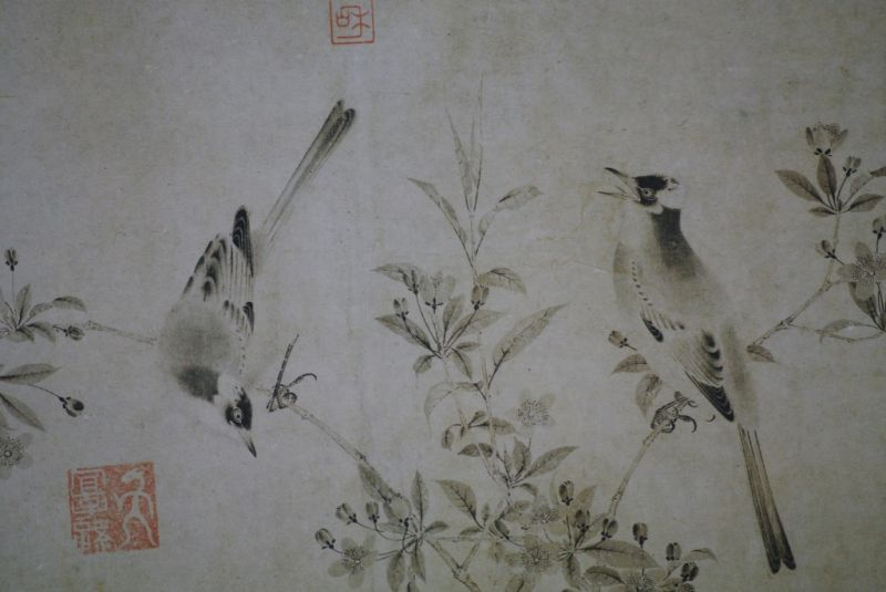 Chinese Painting Birds 2