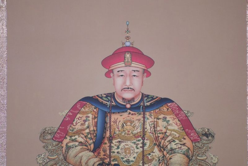 Small Chinese ancestor Jiaqing emperor 4