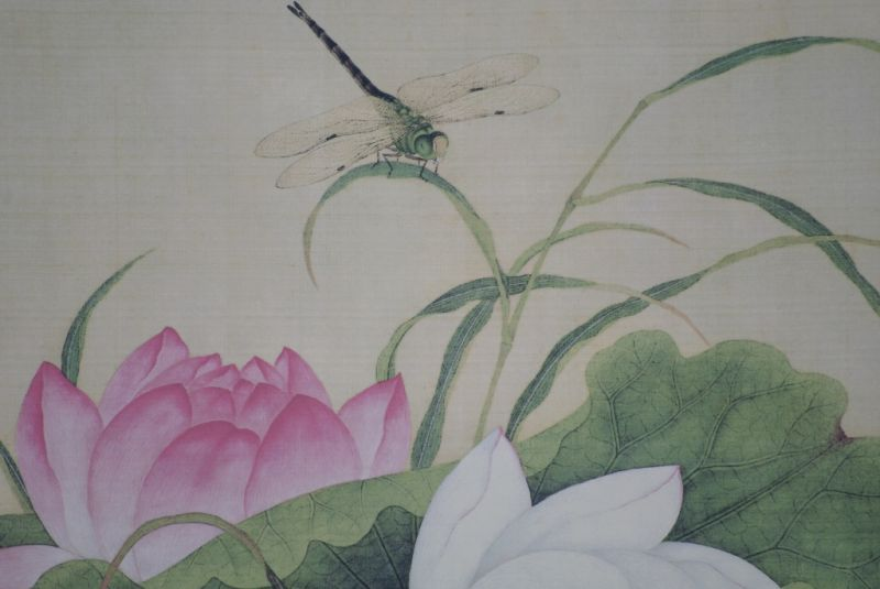 Chinese Paintings to Frame Dragonfly 4