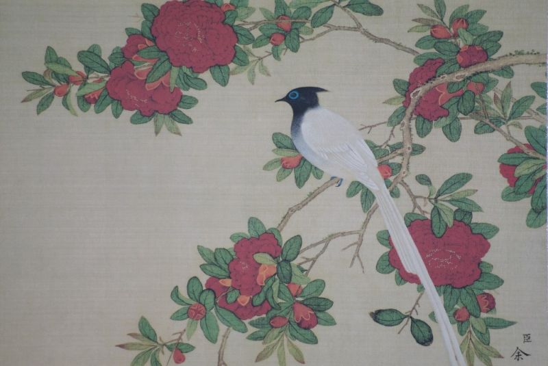 Chinese Paintings to Frame Bird 4