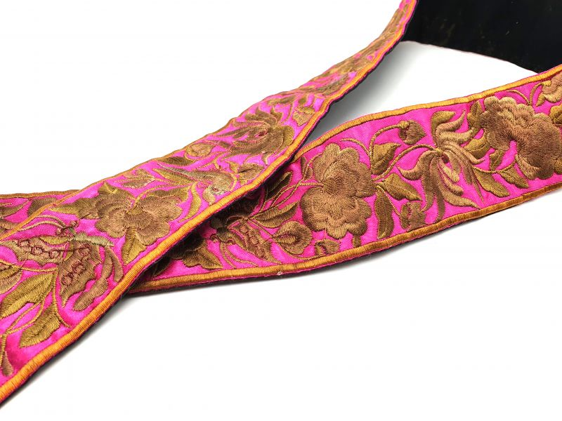 Miao Belts Embroidery Pink 2