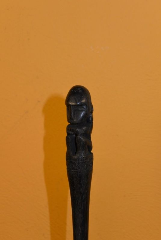 Indonesian Statue Wood hairpin 2