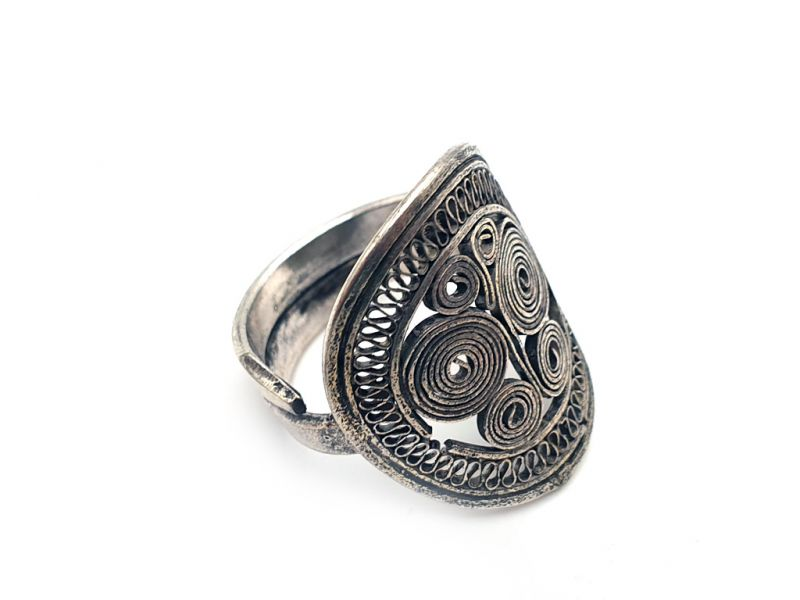Chinese Ring from the Miao Minority Butterfly 2