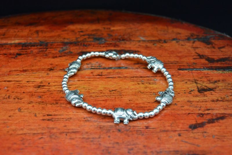 Little Chinese Ethnic Bracelet Elephants 5