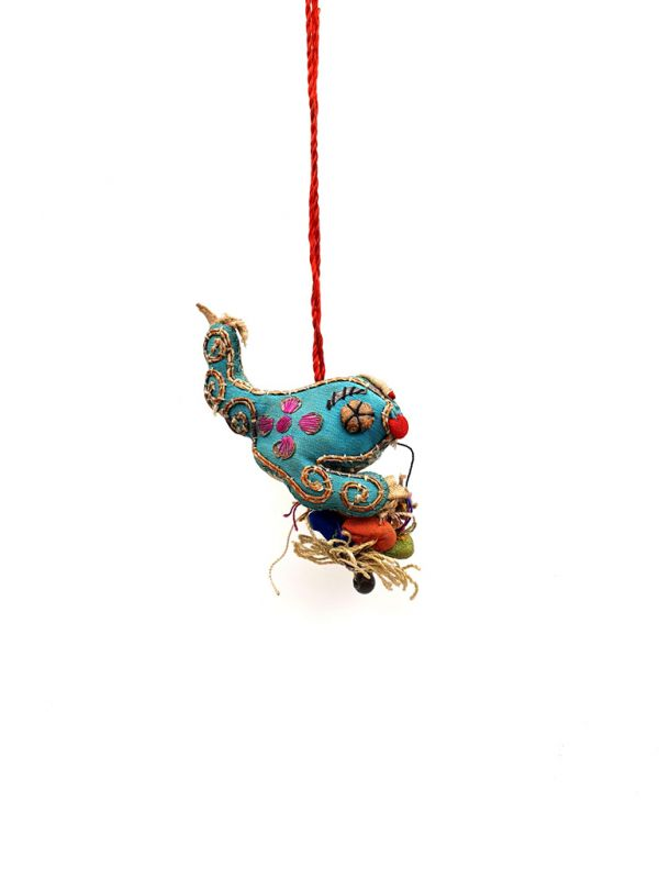 Shanxi old embroidery Toad 2