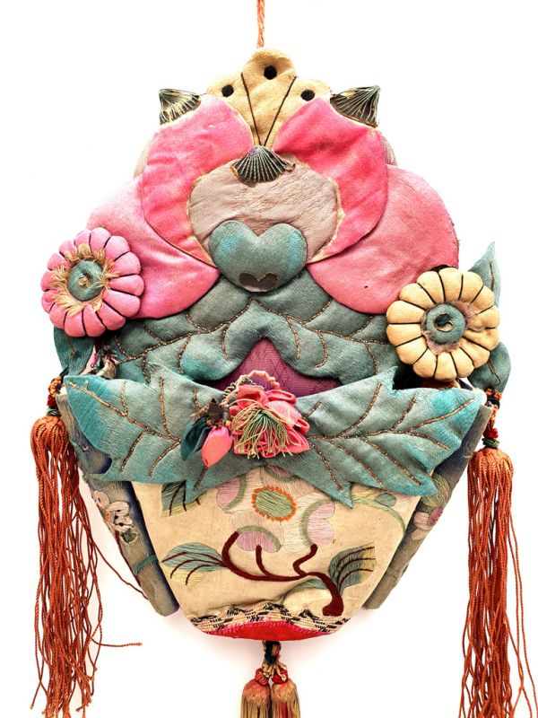 Shanxi old embroidery Flowers 2