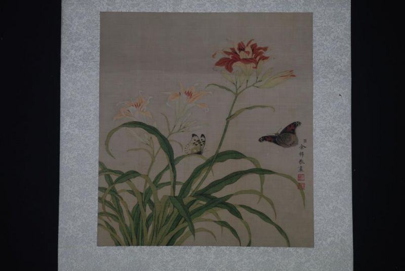 Chinese Paintings to Frame Butterflies 2
