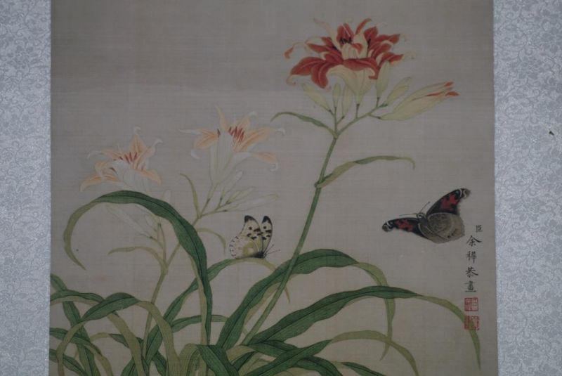 Chinese Paintings to Frame Butterflies 3