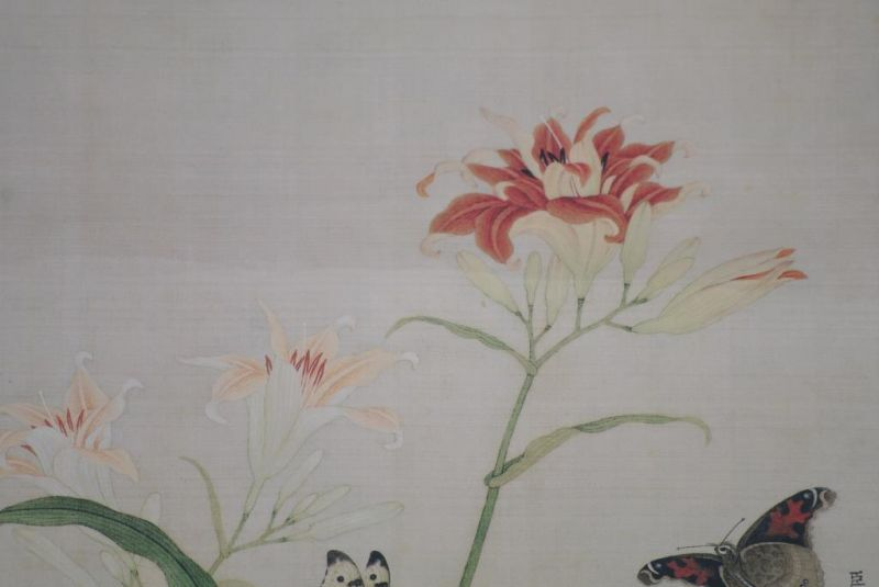 Chinese Paintings to Frame Butterflies 4