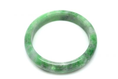 Jade Bracelet Bangle Class A Several Green 6 15
