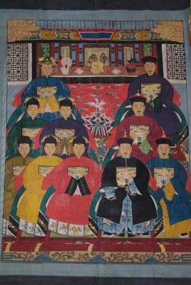 Very Large Chinese ancestors 10 People
