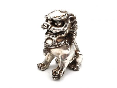 Chinese Statue Metal - Chinese Guardian Dog