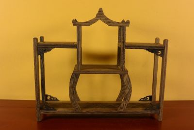 Chinese Shelf - Asian decoration - 34x30cm