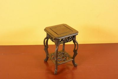 Chinese Wood stand - Chinese table - Wood Stele S