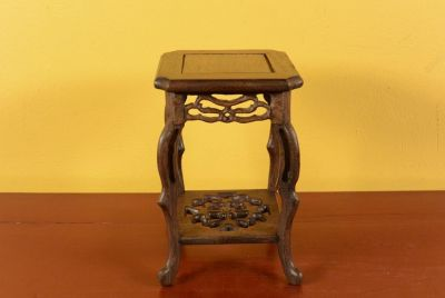 Chinese Wood stand - Chinese table - Wood Stele M