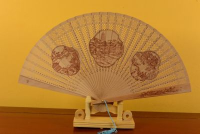 Chinese Hand fan - Chinese City