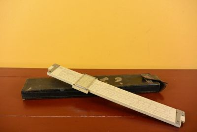 Old Chinese Slide Rule - Student