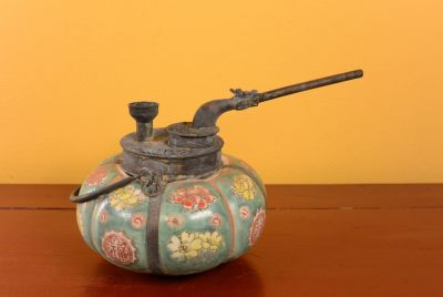 Chinese Porcelain Water Pipe - Green 2